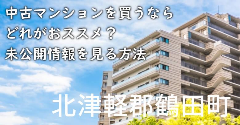 北津軽郡鶴田町の中古マンションを買うならどれがおススメ?掘り出し物件の探し方や未公開情報を見る方法など