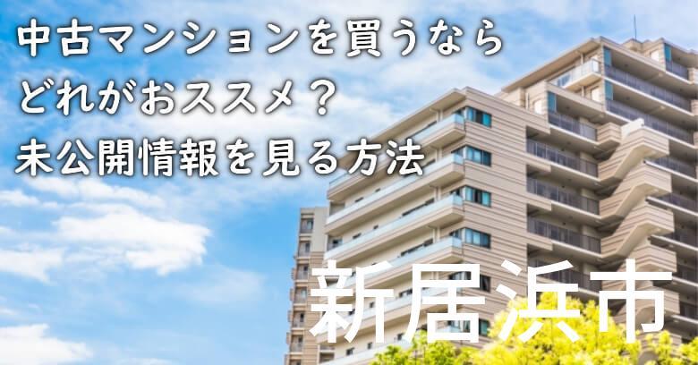 新居浜市の中古マンションを買うならどれがおススメ?掘り出し物件の探し方や未公開情報を見る方法など