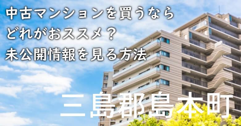 三島郡島本町の中古マンションを買うならどれがおススメ?掘り出し物件の探し方や未公開情報を見る方法など