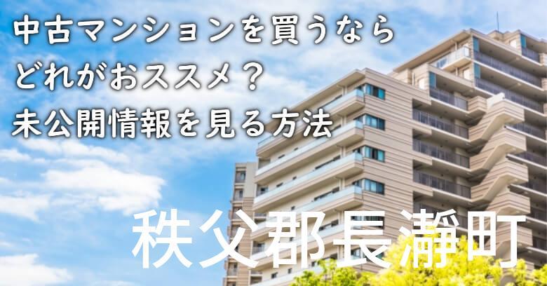 秩父郡長瀞町の中古マンションを買うならどれがおススメ?掘り出し物件の探し方や未公開情報を見る方法など
