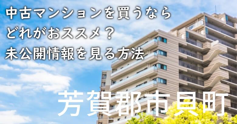 芳賀郡市貝町の中古マンションを買うならどれがおススメ?掘り出し物件の探し方や未公開情報を見る方法など